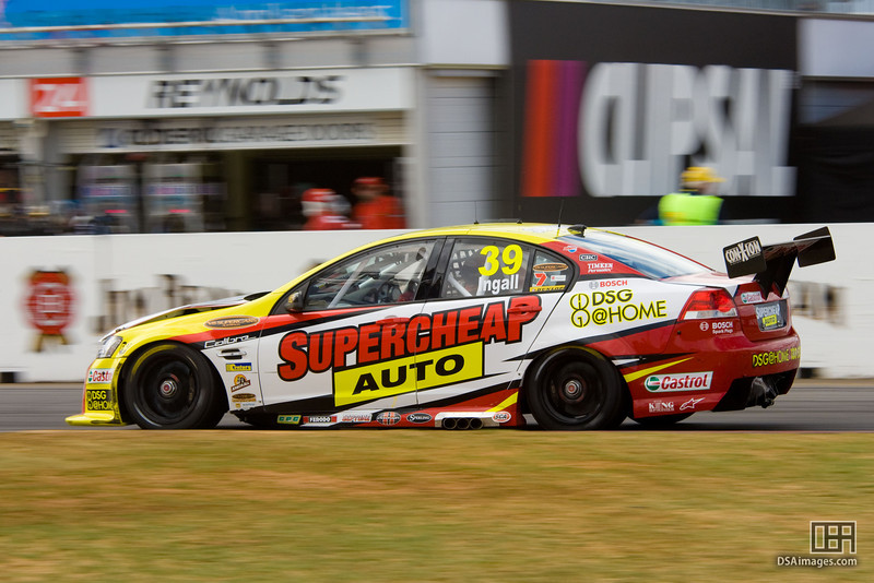 Russell Ingall of Supercheap Auto Racing