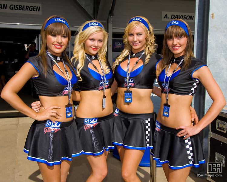The SP Racing girls