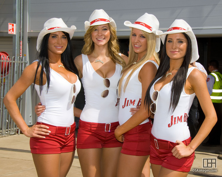 The Jim Bean girls