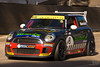 One of the MINI Challenge cars