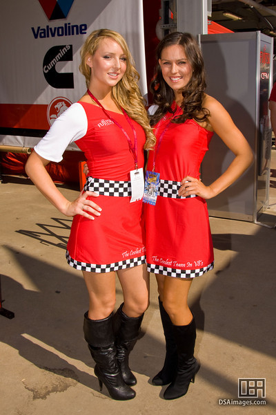 Fujitsu Racing girls