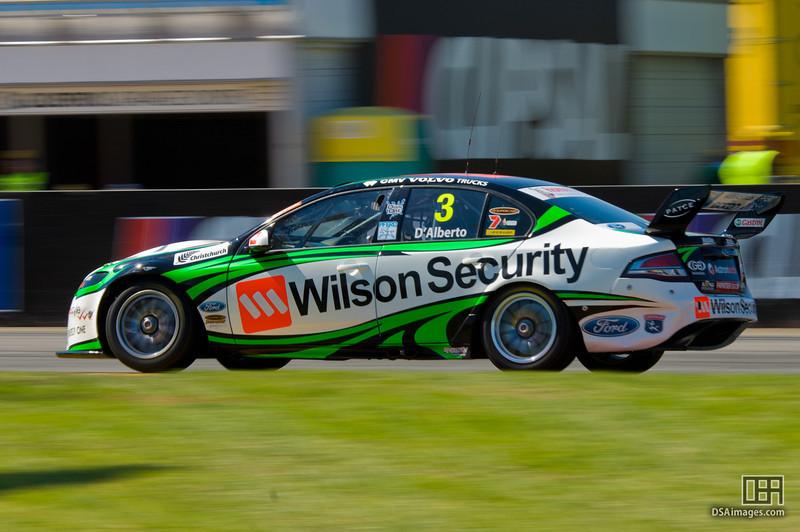 Tony D'Alberto of the Wilson Security Racing team