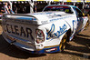 Damaged V8 Ute