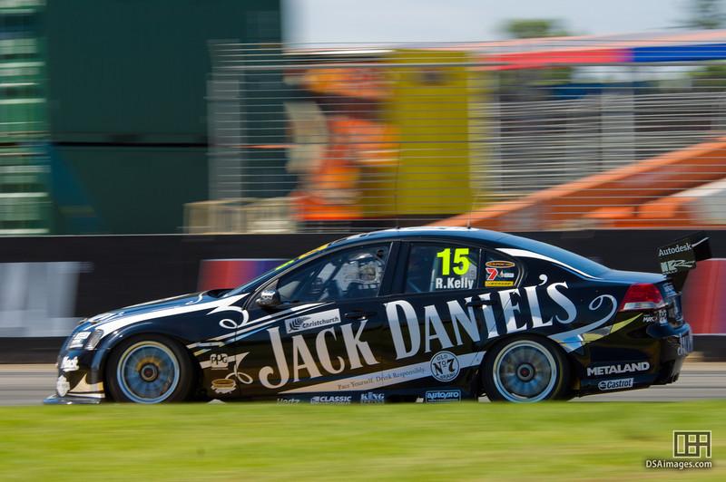 Rick Kelly of the Jack Daniel's Racing team