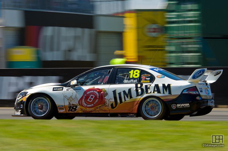 James Moffat of the Jim Beam Racing team