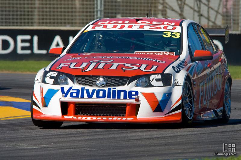 Lee Holdsworth of Fujitsu Racing GRM