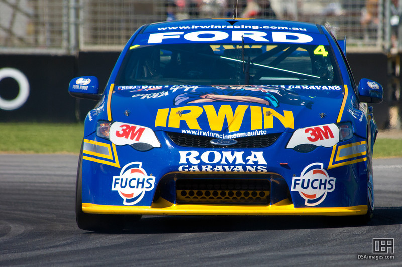 Alex Davison of the Irwin Racing team