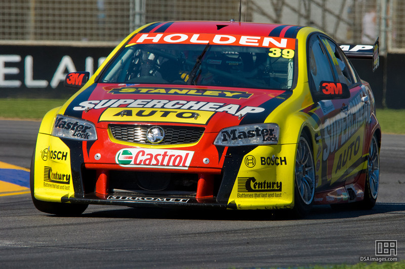 Russell Ingall of the Supercheap Auto Racing team