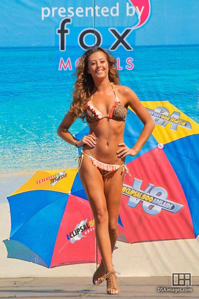 Beachware parade presented by Fox Models