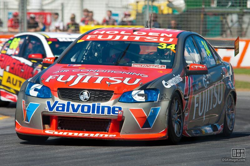 Michael Caruso of Fujitsu Racing GRM