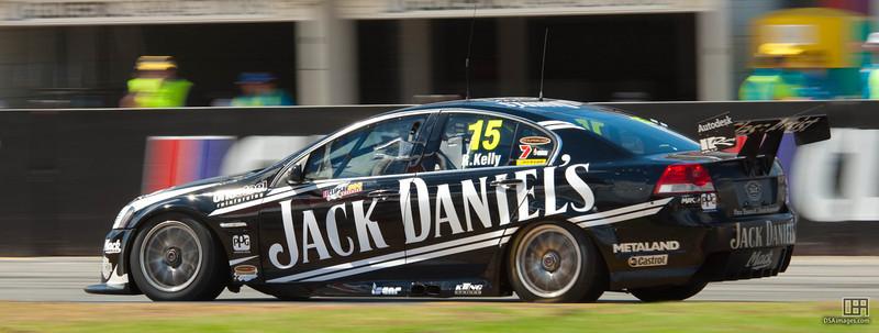 Rick Kelly of Jack Daniel's Racing