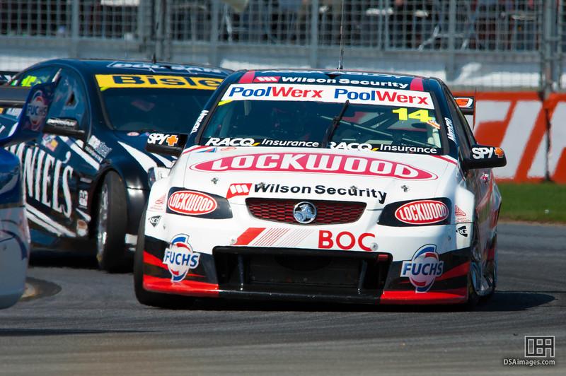 Fabian Coulthard of Lockwood Racing