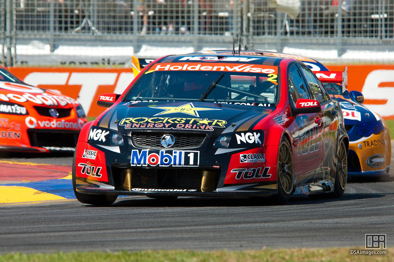 Garth Tander of the Holden Racing Team