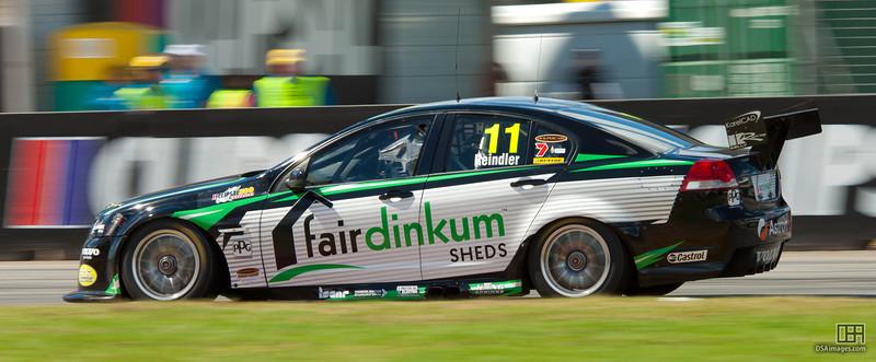 Karl Reindler of Fair Dinkum Sheds Racing