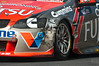 Alexandre Premat of Fujitsu Racing GRM light damage