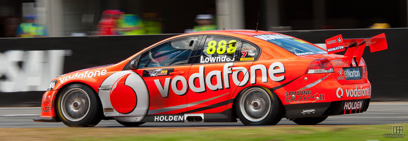 Craig Lowndes of TeamVodafone