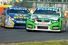 David Reynolds of The Bottle-O Racing Team with Lee Holdsworth close behind