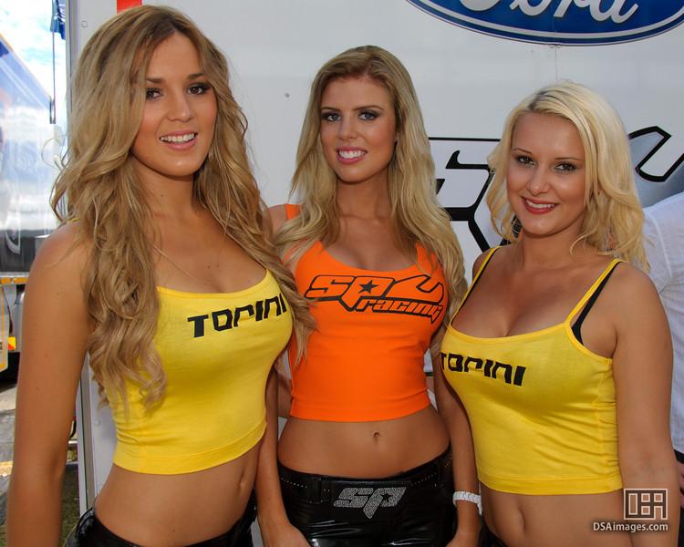 Torini and SPC Racing girls