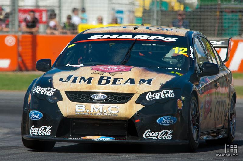 Dean Fiore of Jim Beam Racing