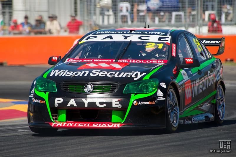 David Wall of Wilson Security Racing