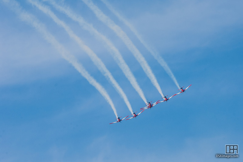 RAAF Roulettes air display