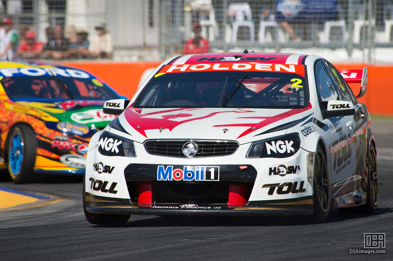 Garth Tander of the Holden Racing Team