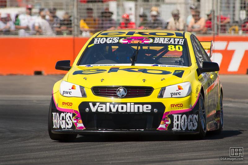 Scott Pye of Lucas Dumbrell Motorsport