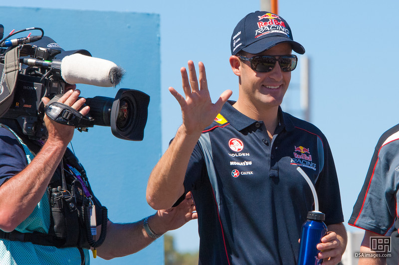 Jamie Whincup of Red Bull Racing Australia