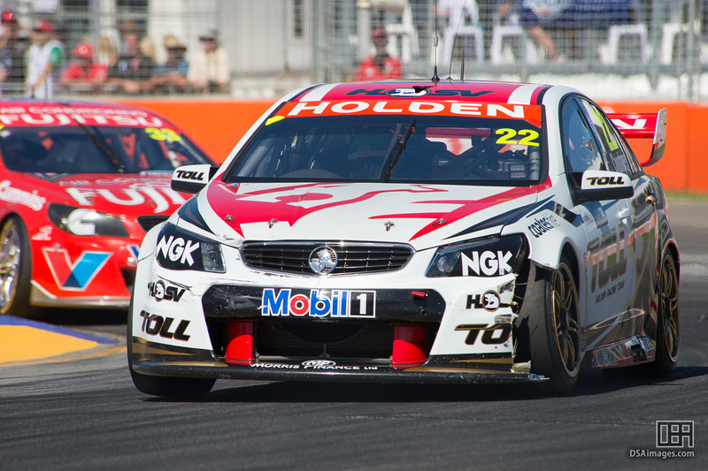 James Courtney of the Holden Racing Team