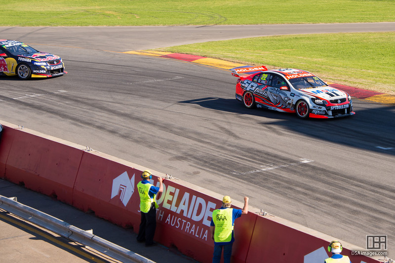 James Courtney about to win race 3