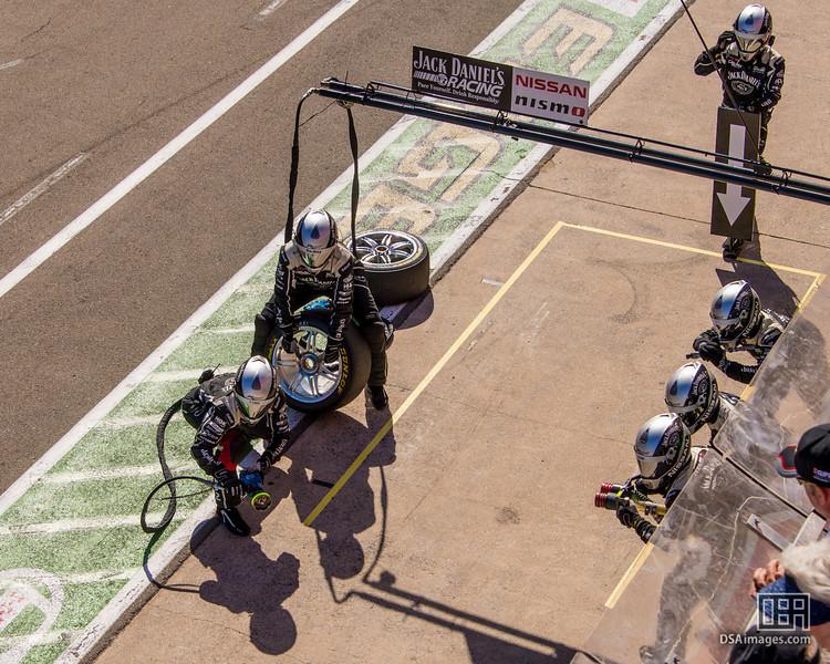 Jack Daniel's Racing pit crew