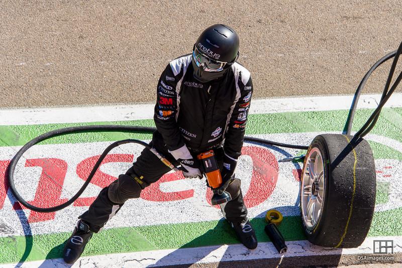 Erebus Motorsport V8 pit crew