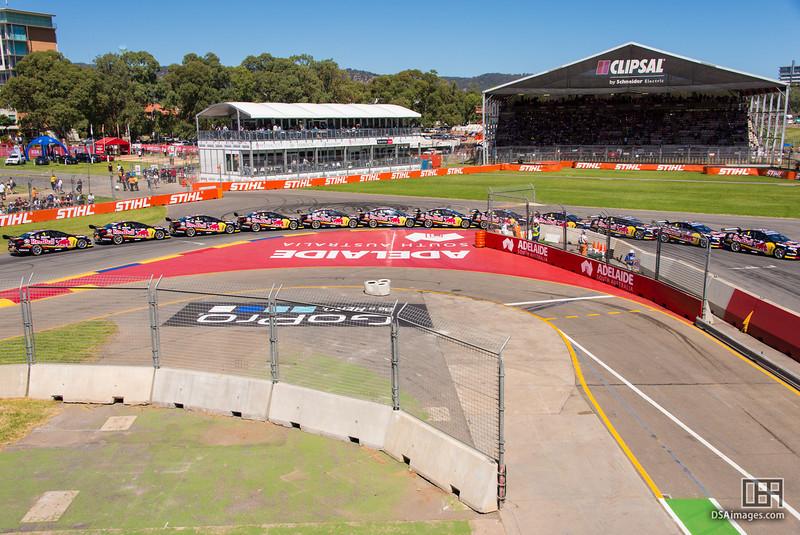 Jamie Whincup's racing line