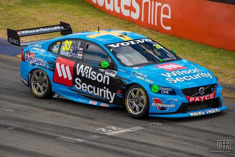 Scott McLaughlin (Wilson Security Racing GRM)