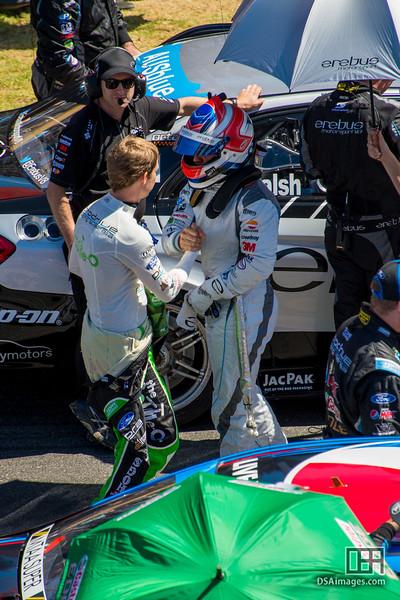 Ash Walsh (Erebus Motorsport) and David Reynolds (Bottle-O Racing)