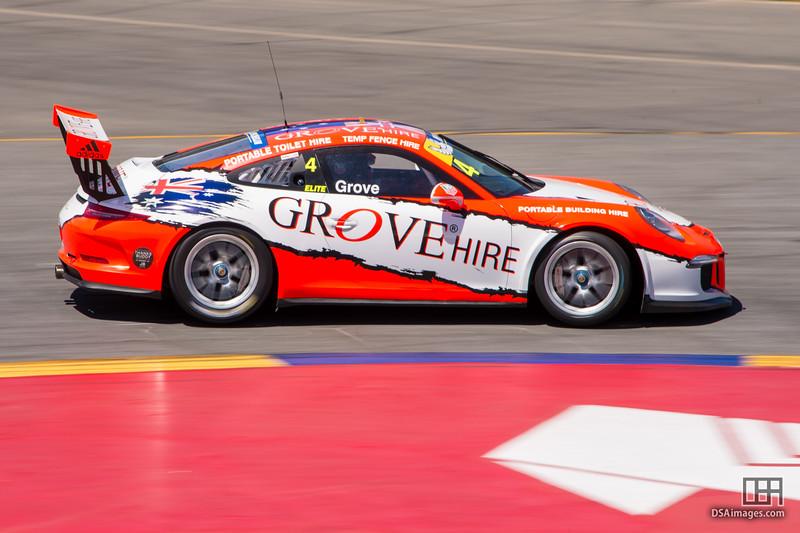 Stephen Grove (VIC) in the Porsche Carrera Cup