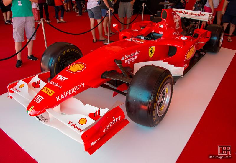 2009 F60 Ferrari Formula 1 car