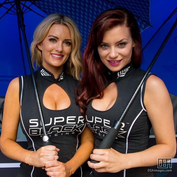 Super Black Racing girls