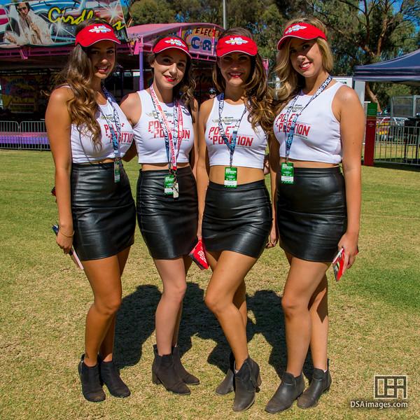 Clipsal 500 Pole Position girls