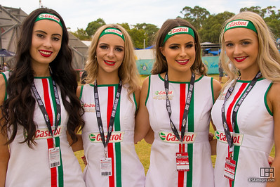 Castrol girls
