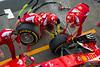 Ferrari pit stop practice