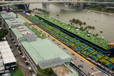 Porsche Carrera Cup Asia race