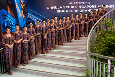 Singapore Airlines girls