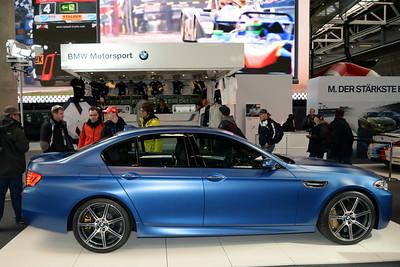 BMW M5 Matte Blue