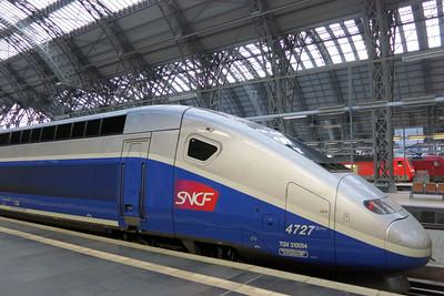 TGV Paris Frankfurt