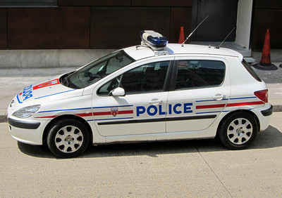Peugeot 306 Paris Police car
