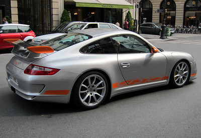 Porsche GT3 RS Paris