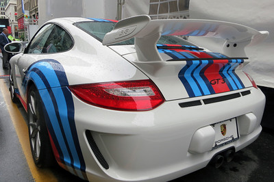 Porsche 911 GT3 Martini colors