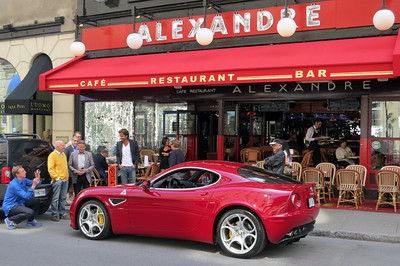Alfa Romeo 8C Alexandre Restaurant 01