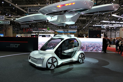 Italdesign helicopter car